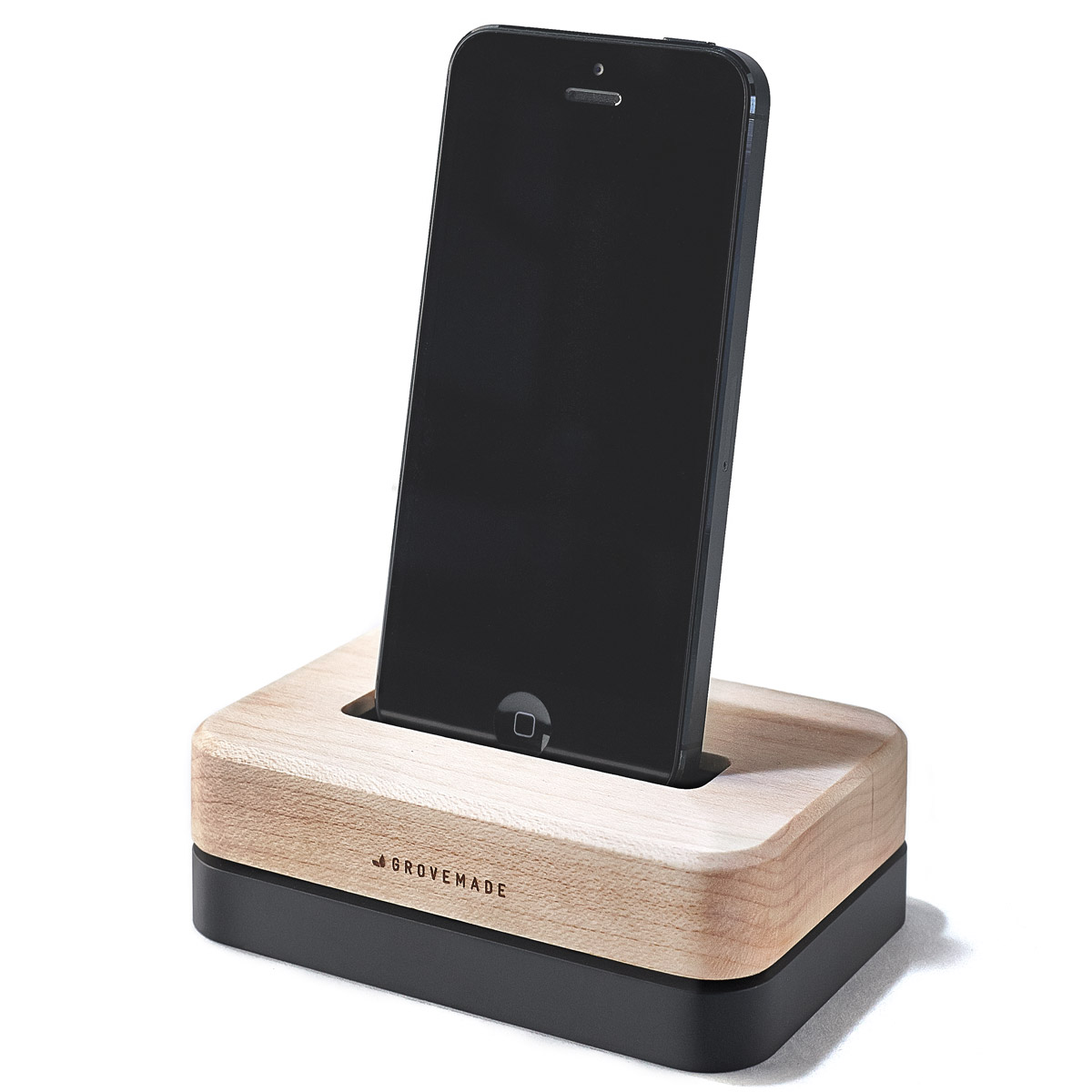 Defunct - MAPLE-IPHONE-DOCK-BLACK