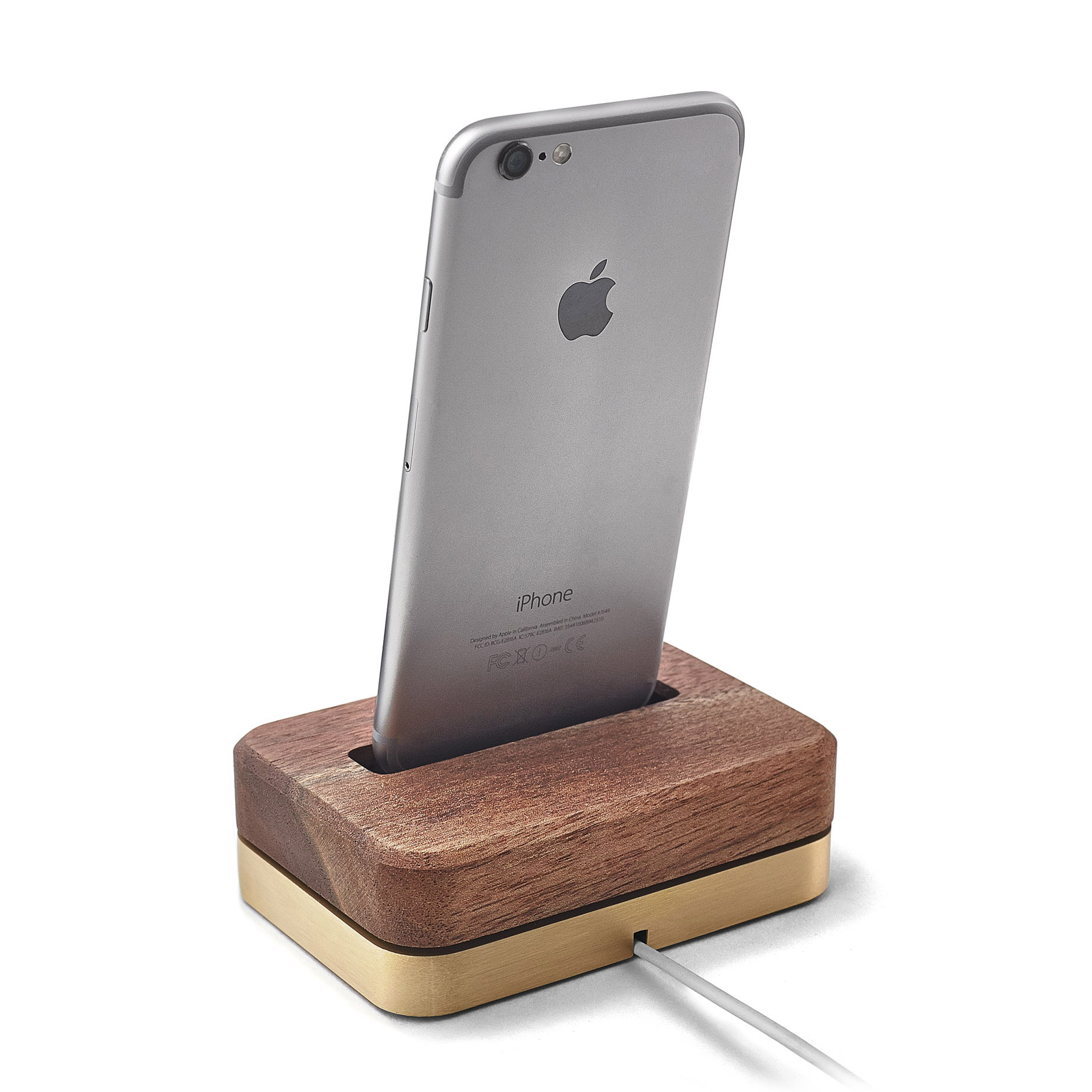 Brass iPhone Dock - IPHONE-7
