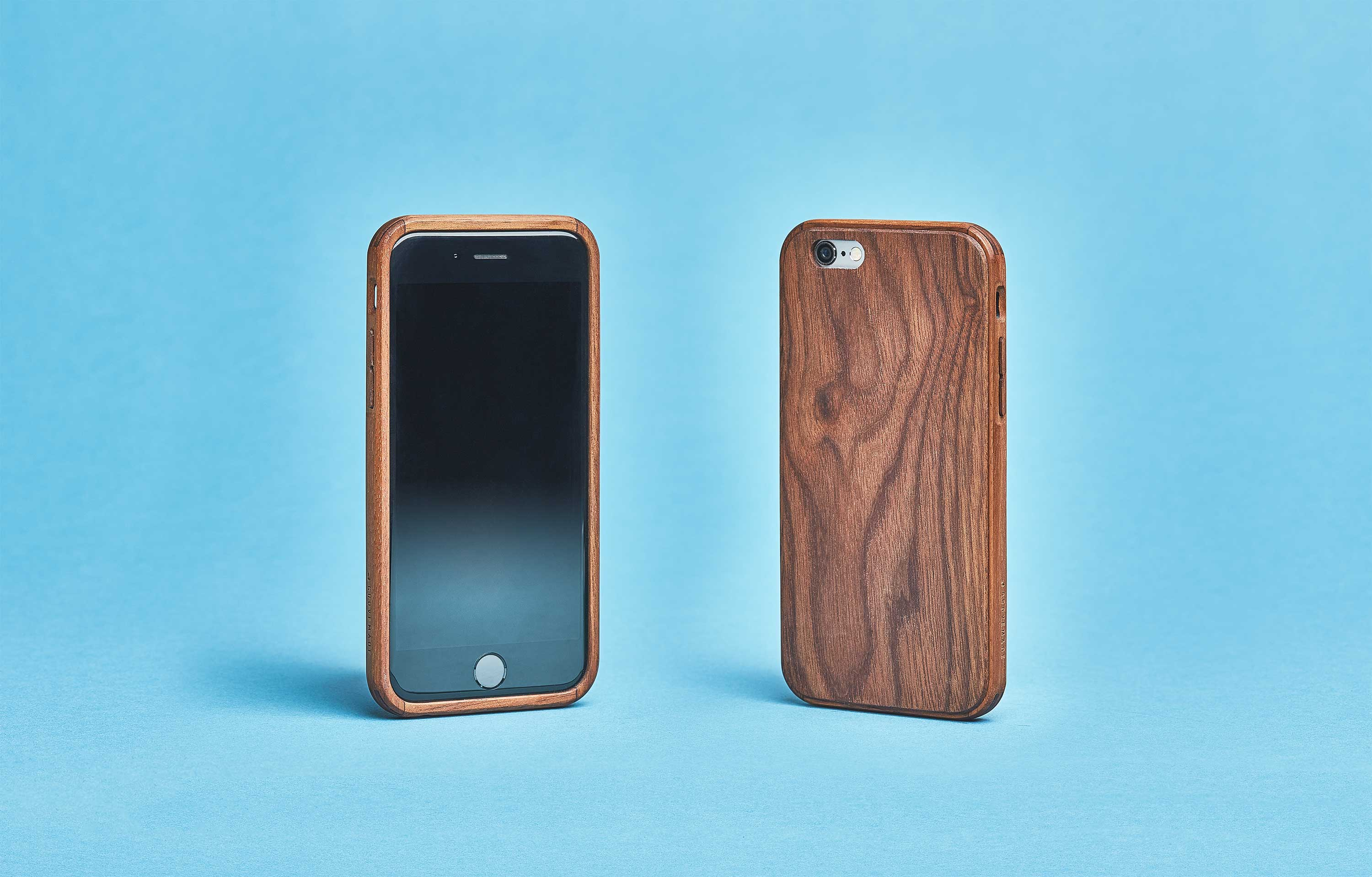 Wood Iphone 7 Case Amp Se 6 6s Plus In Walnut By Grovemade