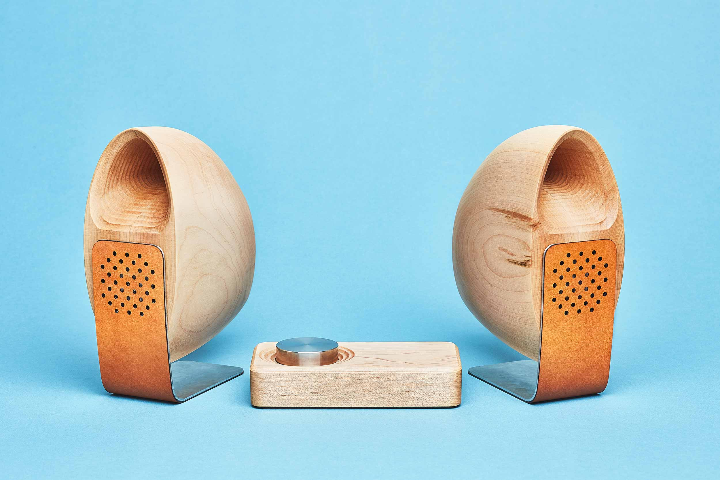 Grovemade Maple Speakers