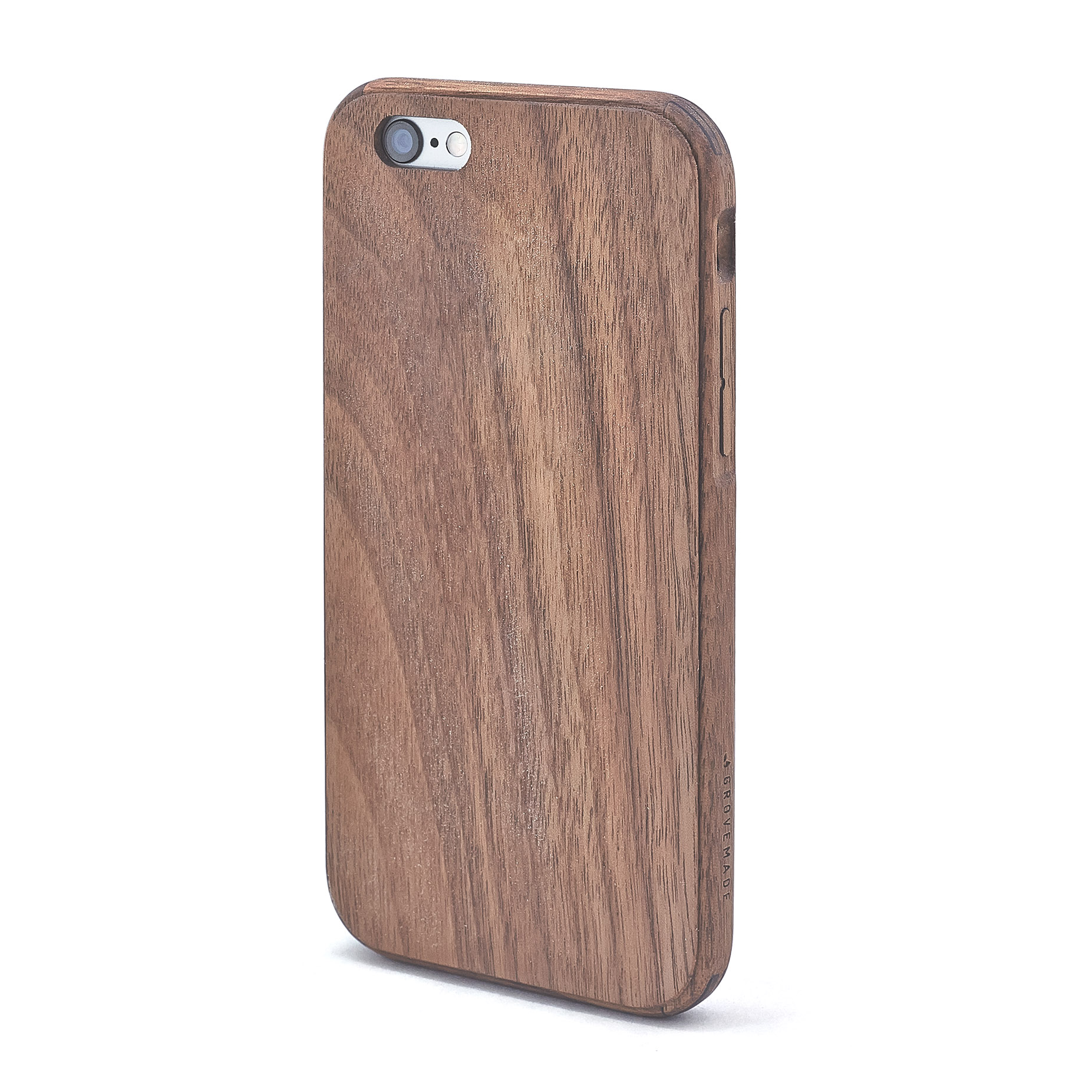 Case Design initial phone cases : Wood iPhone 7 Case u0026 SE/6/6S/Plus in Walnut by Grovemade