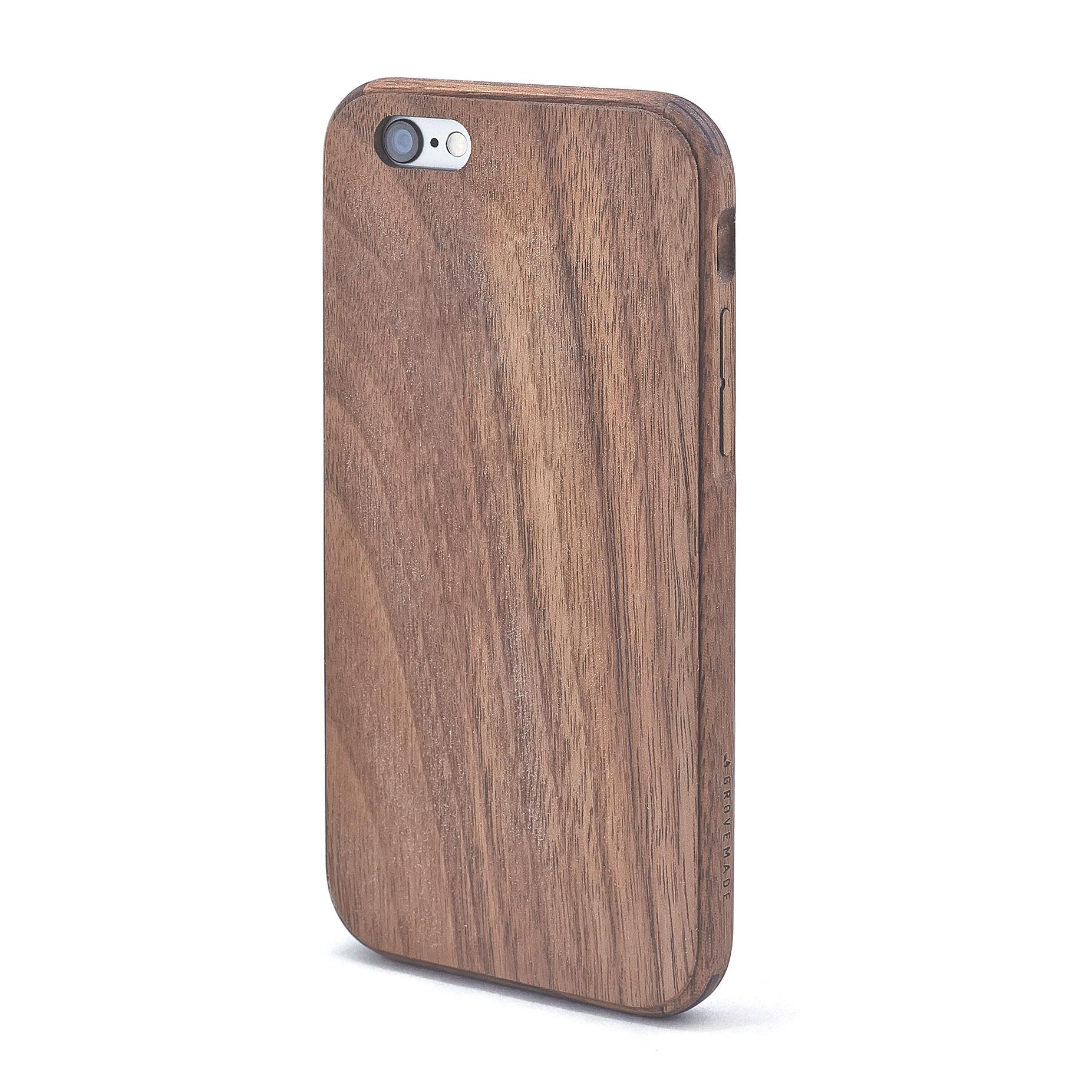 Wood iPhone 7 Case u0026 SE/6/6S/Plus in Walnut by Grovemade