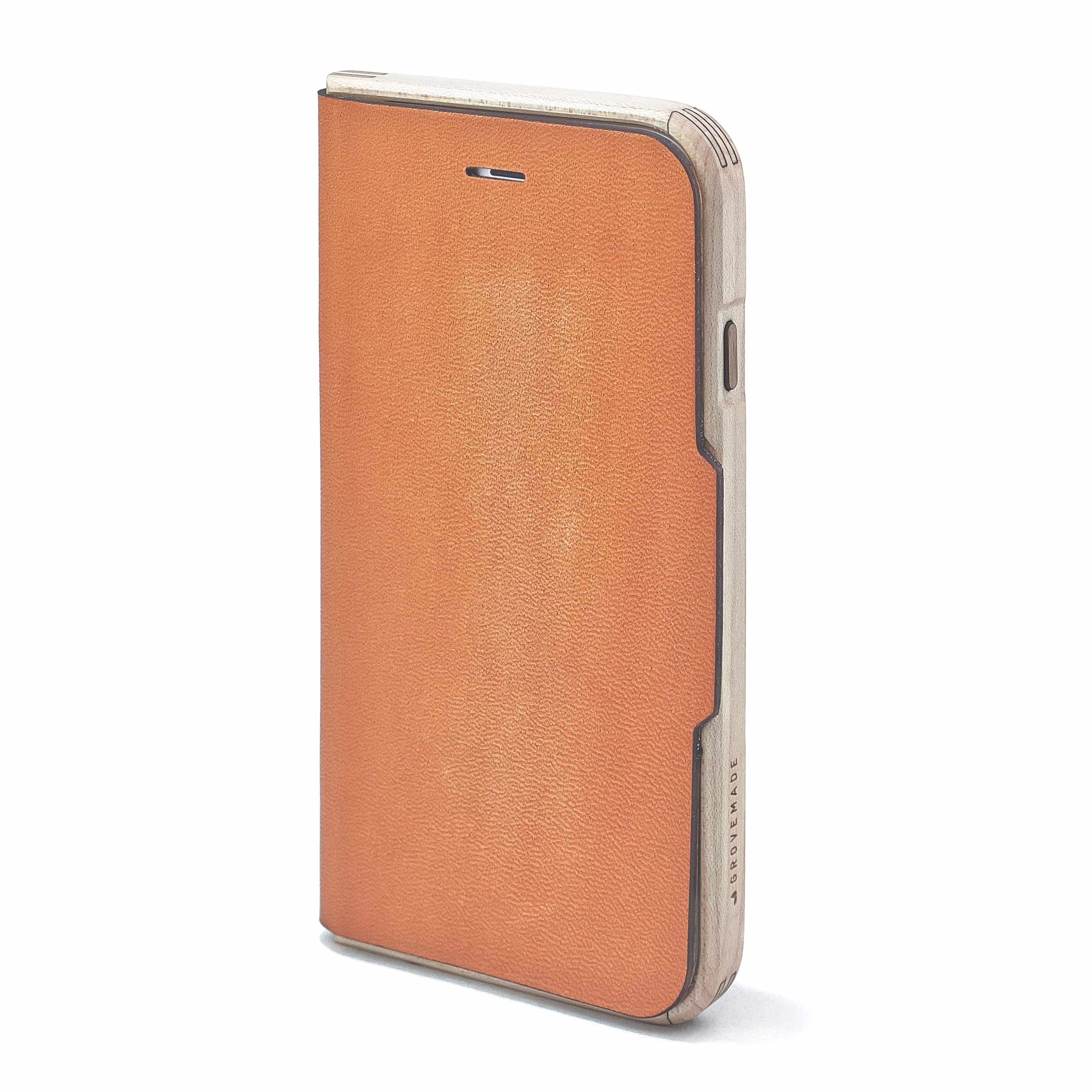 Maple & Leather iPhone Wallet Case - IPHONE-6-6S