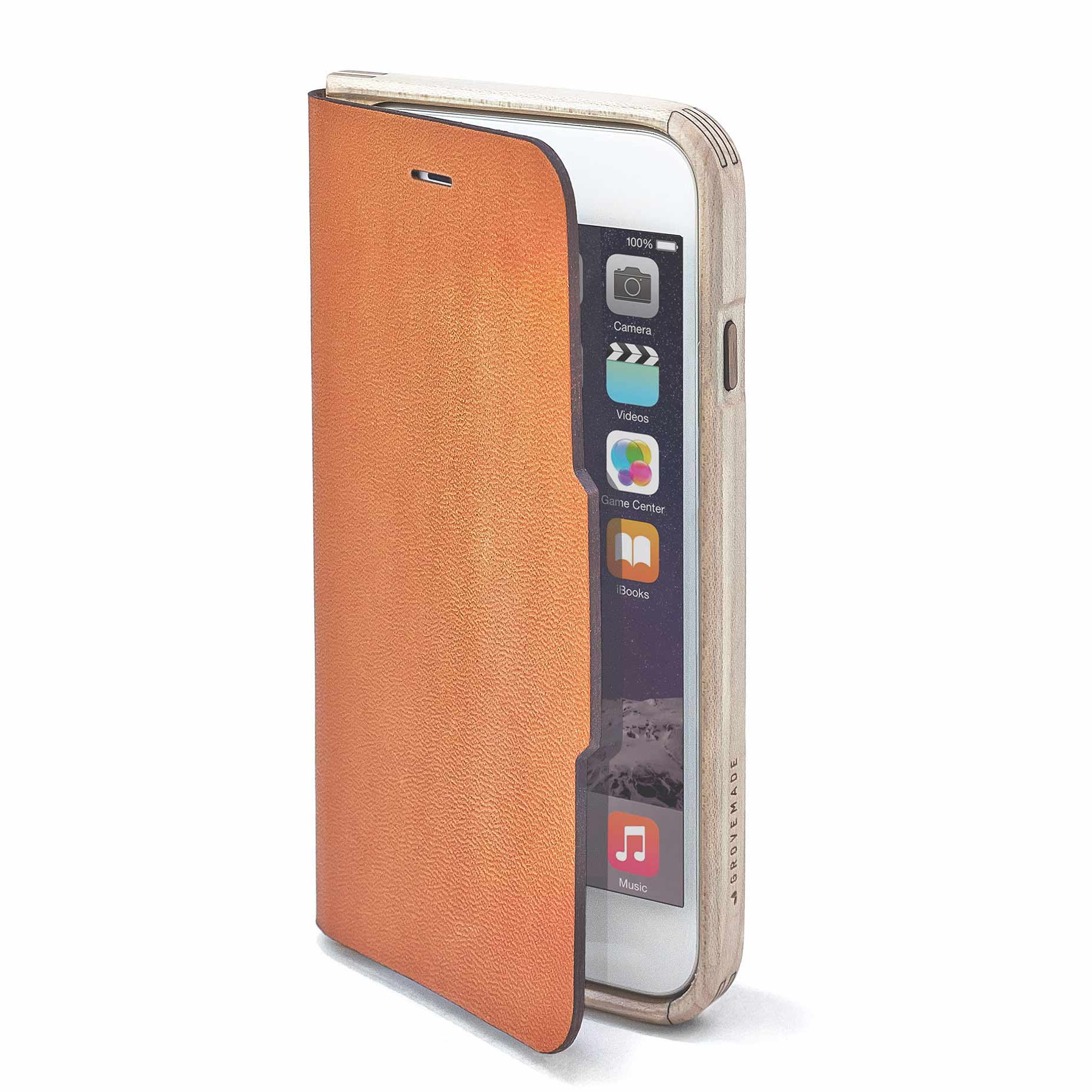 Maple & Leather iPhone Wallet Case - IPHONE-7