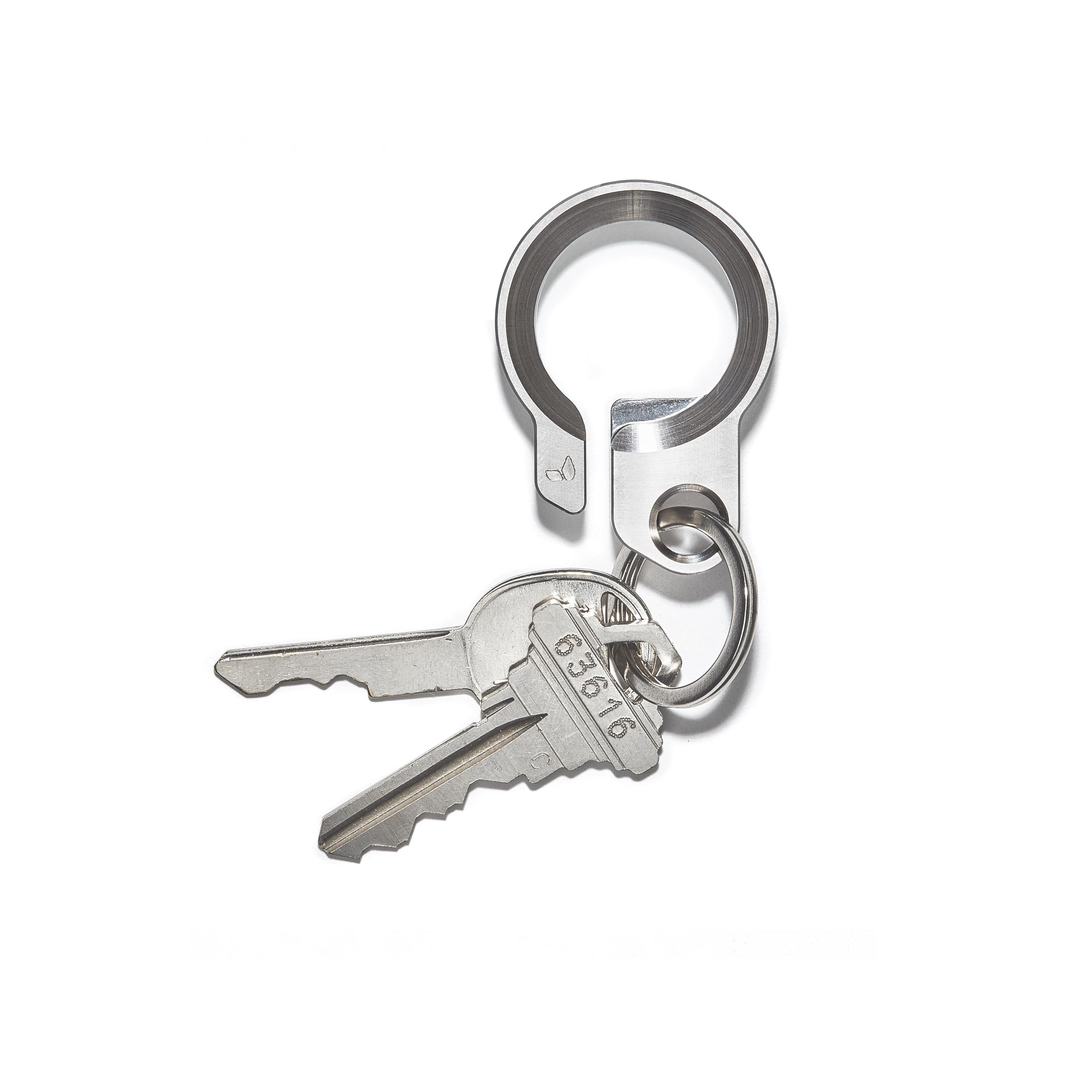 Titanium Key Ring -