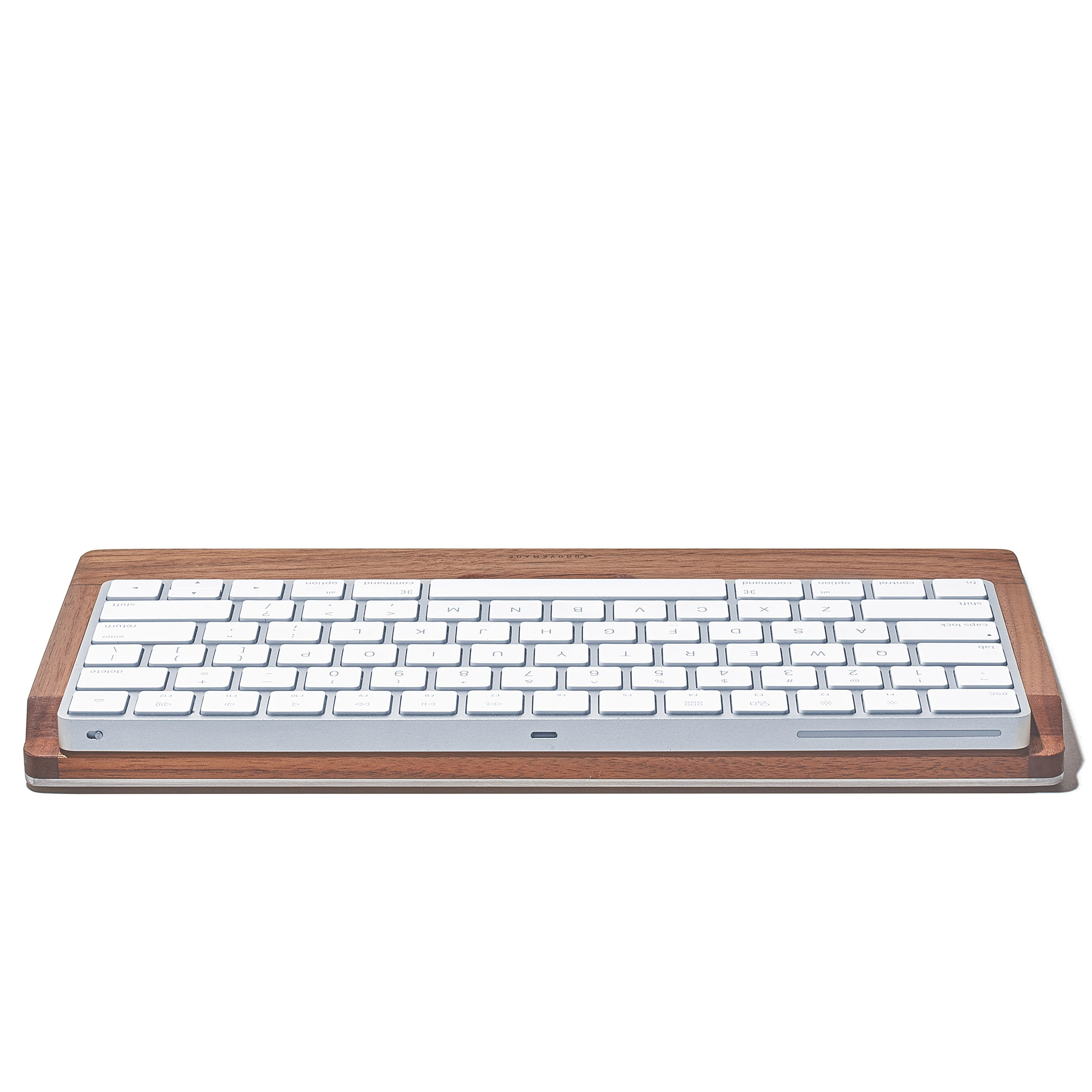Walnut Keyboard Tray - APPLE-MAGIC-KEYBOARD-OCTOBER-2015