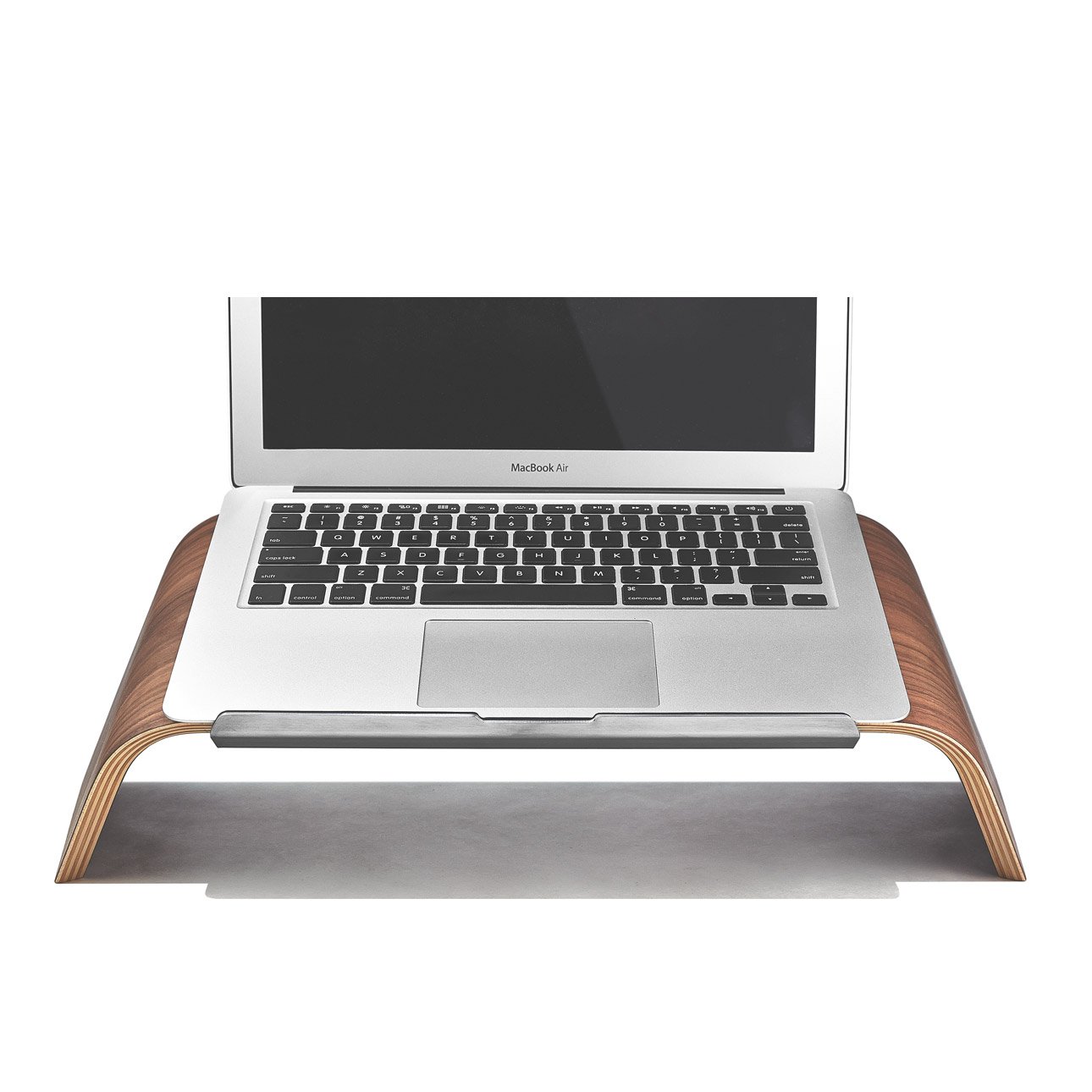 Walnut Laptop Stand -