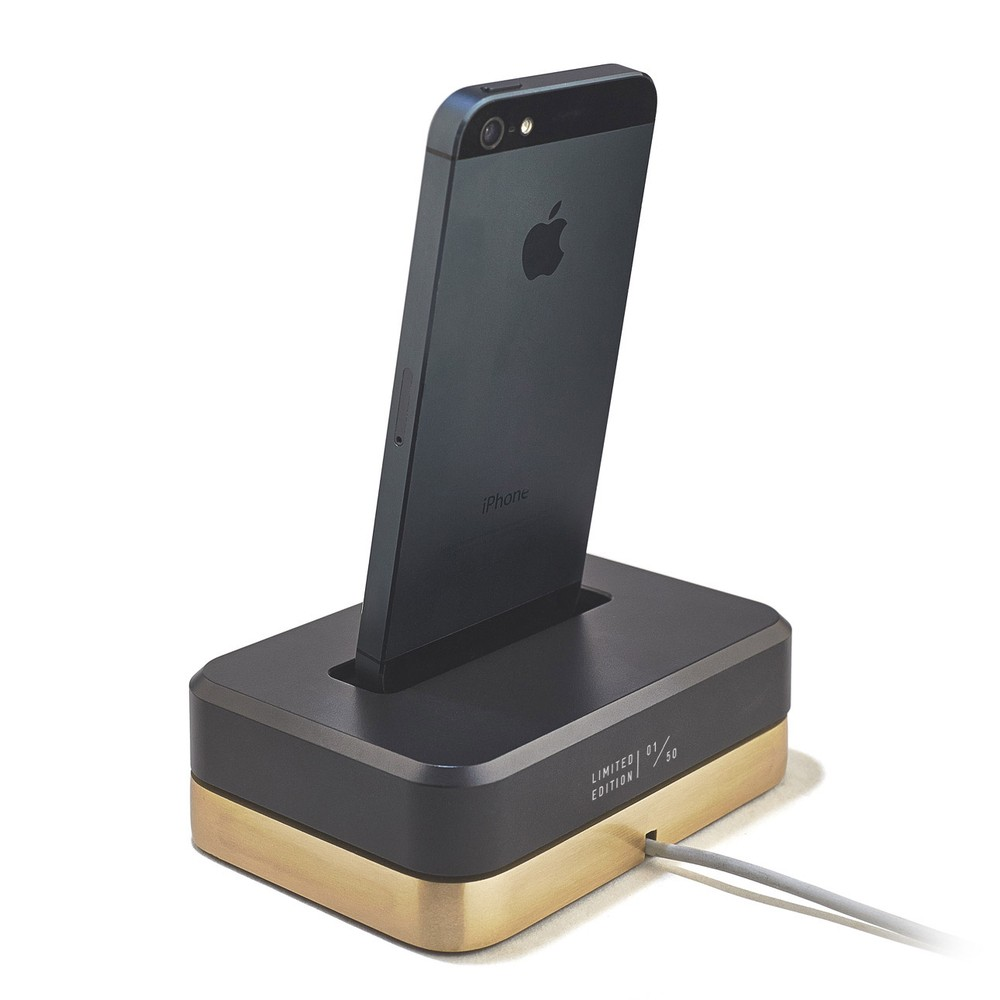 LIMITED EDITION DOCK (BLACK) - BRASS