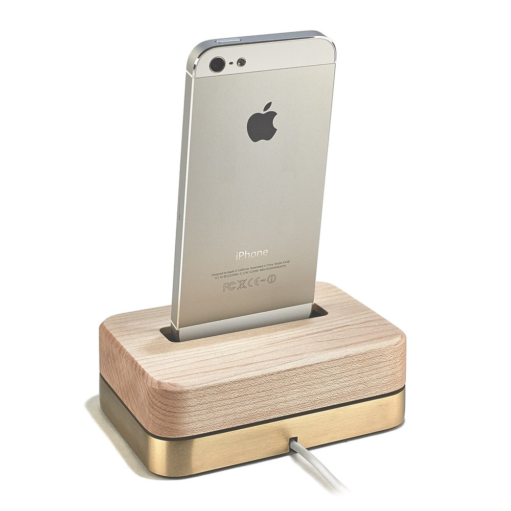 LIMITED EDITION DOCK (BRASS + MAPLE) - MAPLE