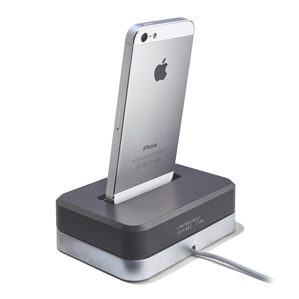 LIMITED EDITION DOCK (BLACK) - STAINLESS-STEEL