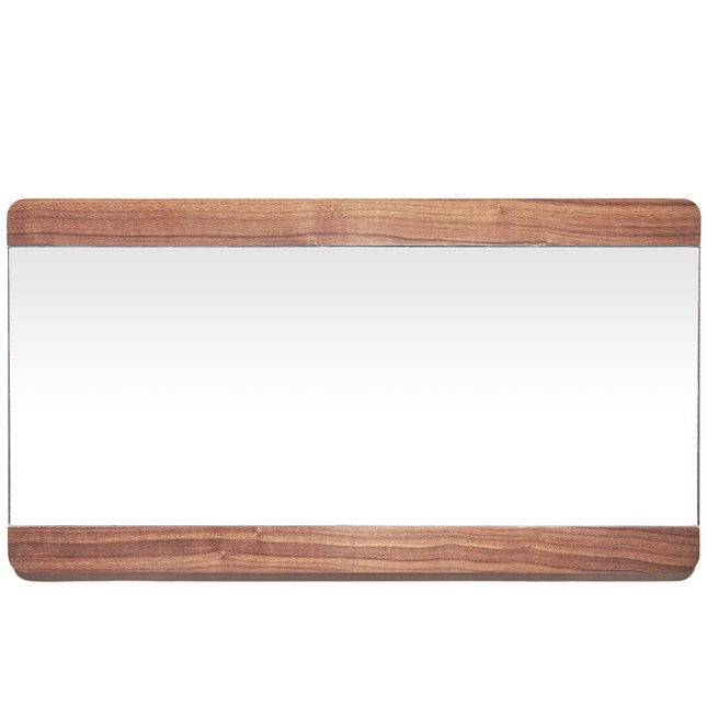 Walnut Wall Mirror -