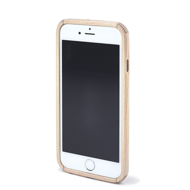 Maple & Leather iPhone Case - IPHONE-7-JET-BLACK-SILVER-GOLD-ROSE-GOLD