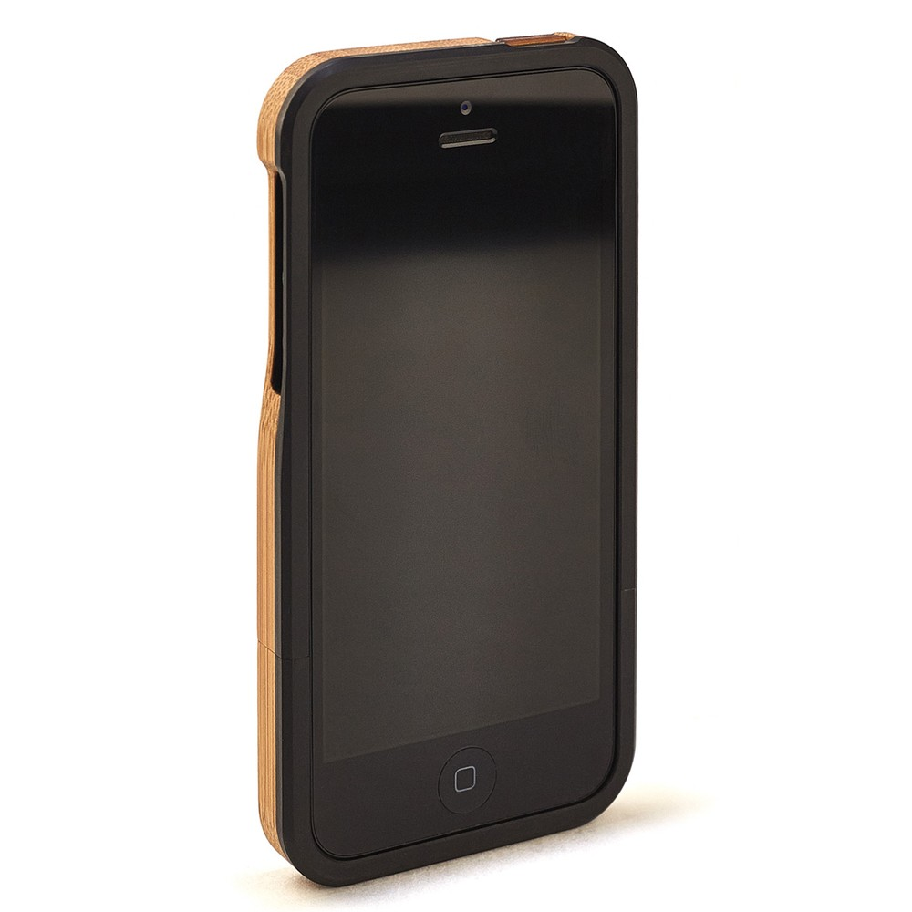 BAMBOO IPHONE CASE (TREE) - BLACK-5-5S