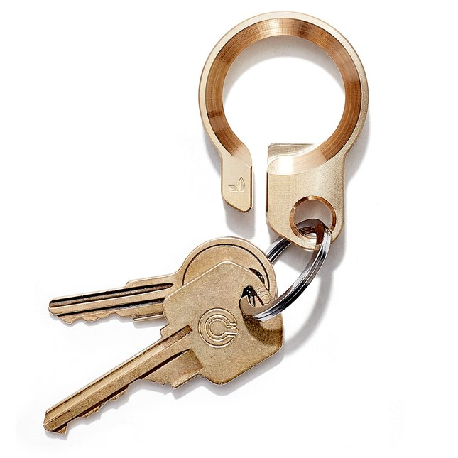 Brass Key Ring -