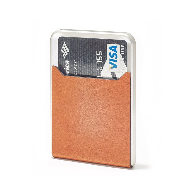 TAN MINIMALIST WALLET - TAN