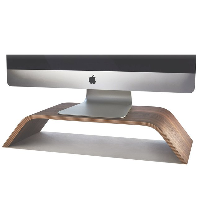 Walnut Monitor Stand -